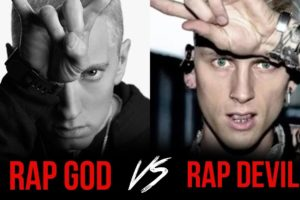 MACHINE GUN KELLY FIRES BACK AT EMINEM (Listen to Diss)