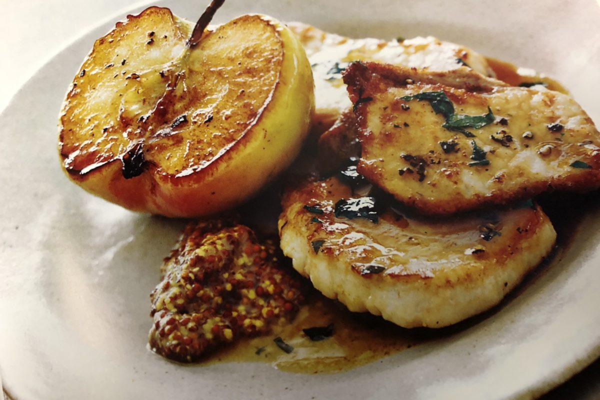 Pork With Sautéed Granny Smith Apples