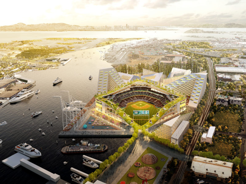 MLB Oakland A's Getting New Stadium Upgrade!