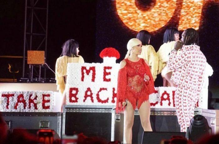 Offset Apologizes to Cardi B on Stage; Celebrities React