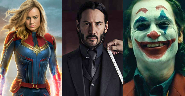 ALL 2019 Movie Releases Coming Out This Year