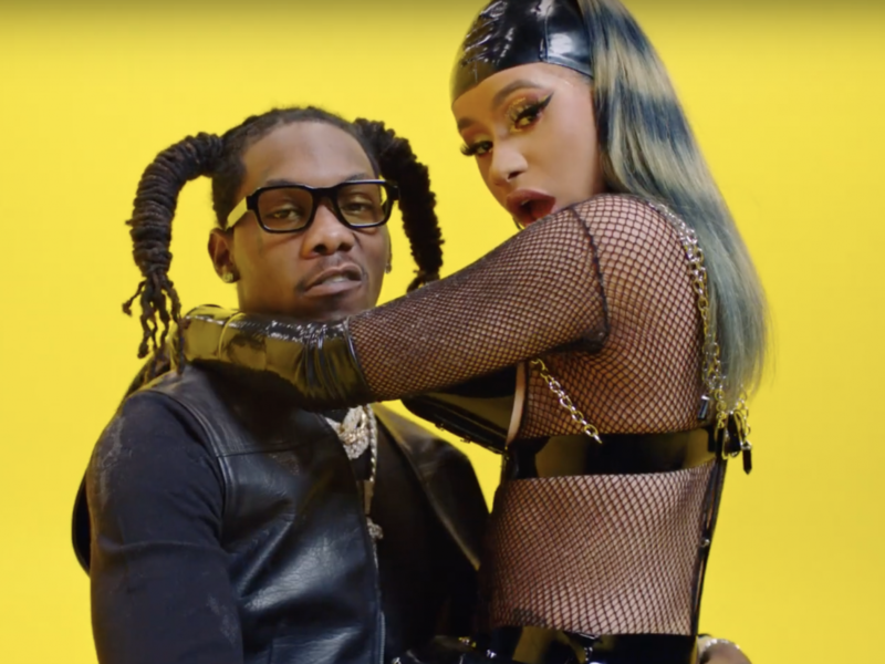 "Offset & Cardi B Drop Steamy New Video for ""Clout"""