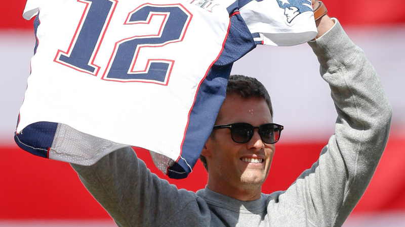 Tom Brady's Jersey Theft Arrested In Massachusetts