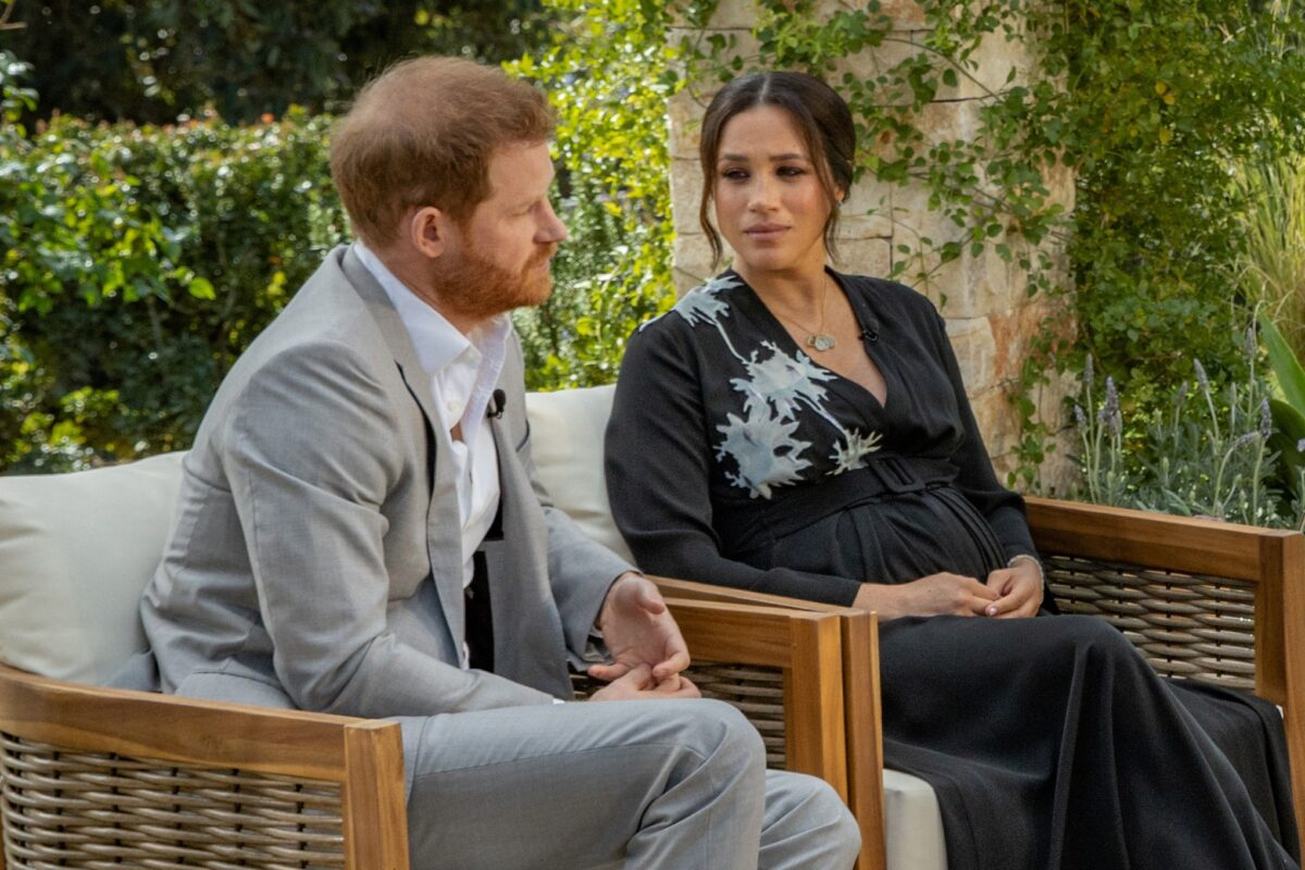 Queen Elizabeth Responds To Prince Harry and Meghan Markle's Oprah Interview