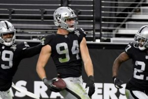 Carl Nassib Jersey Becomes A Top-Seller After Coming Out Announcement